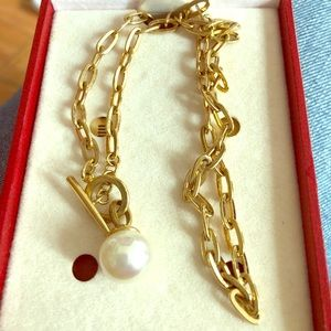 Adorable Majorica pearl necklace NWT